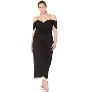 Maxi Entwine black Dress